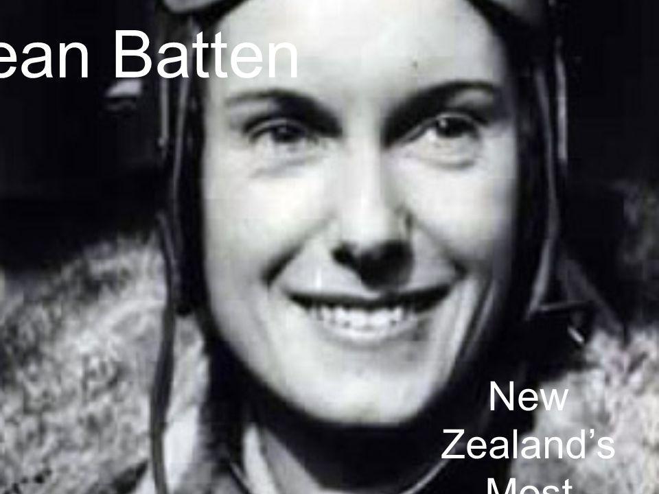Jean Batten New Zealands Most Valuable Explorer.
