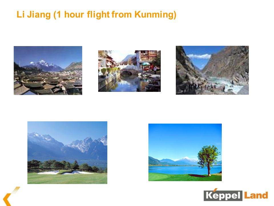 Li Jiang (1 hour flight from Kunming)