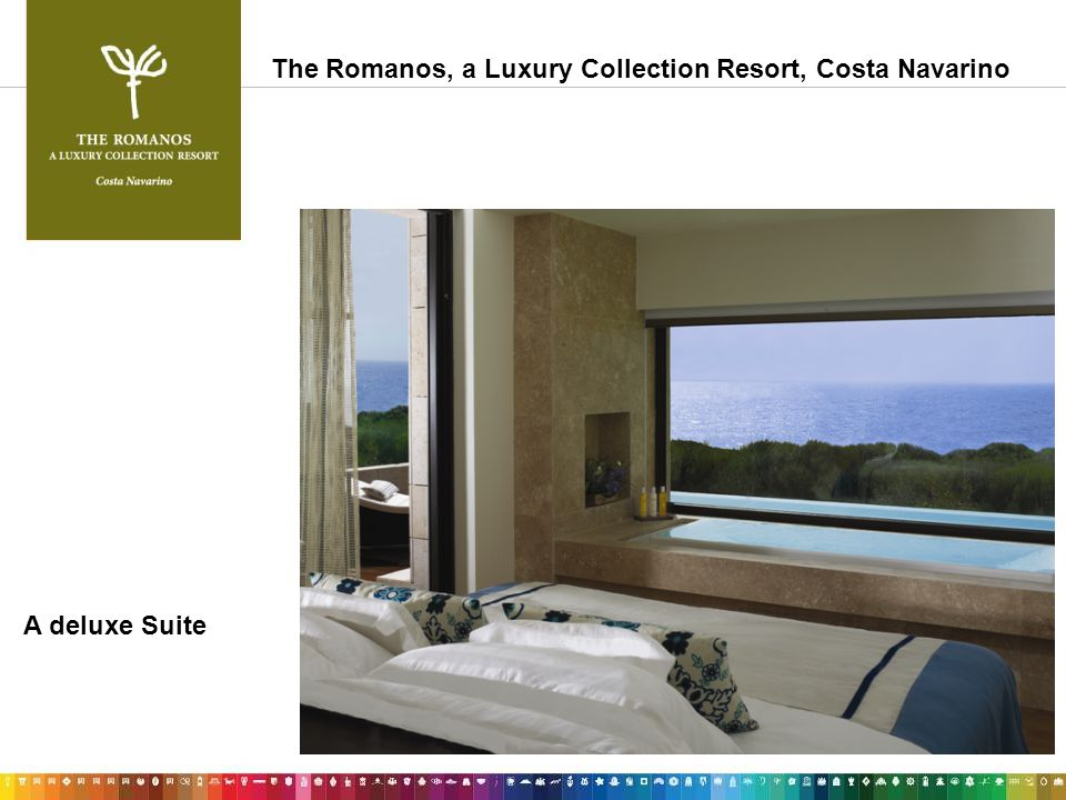 A deluxe Suite The Romanos, a Luxury Collection Resort, Costa Navarino