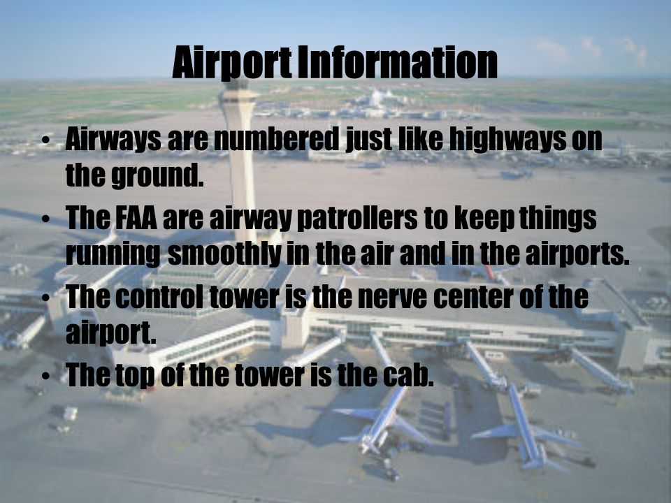 Airport Revenue Traffic Operations Airport Concessions Parking Lots