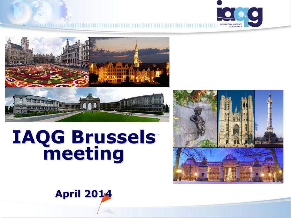 MHI MHI IAQG Brussels meeting April 2014 April 2014