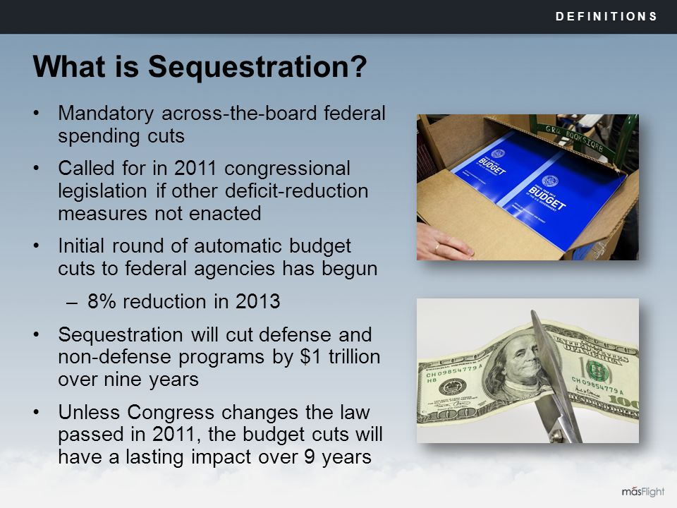 What is Sequestration.