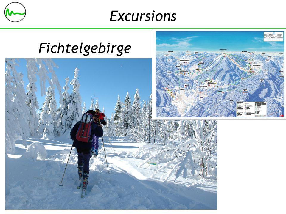 Fichtelgebirge Excursions