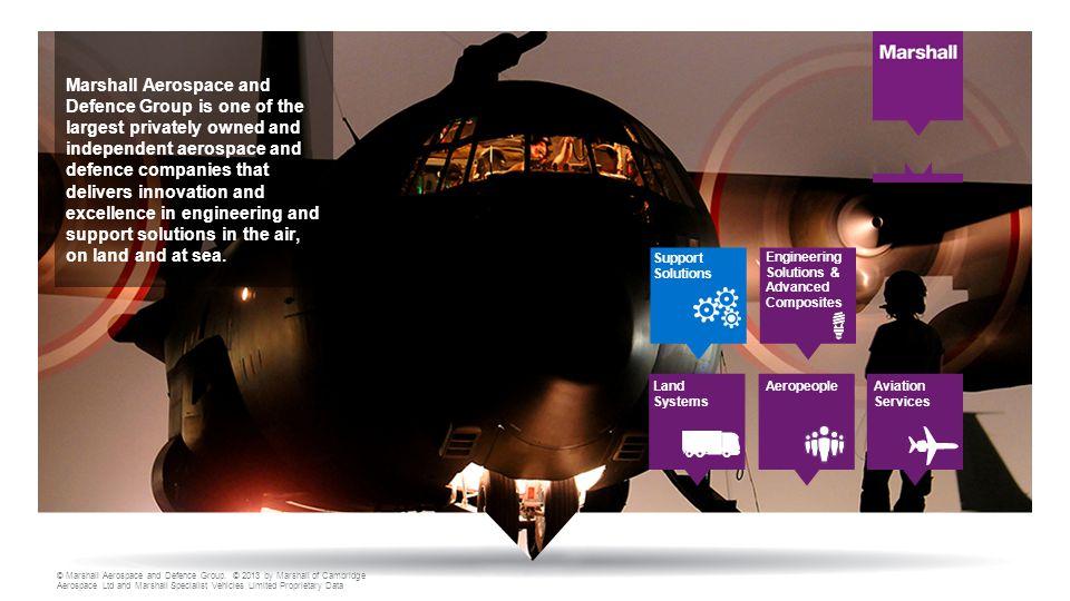 © Marshall Aerospace and Defence Group.
