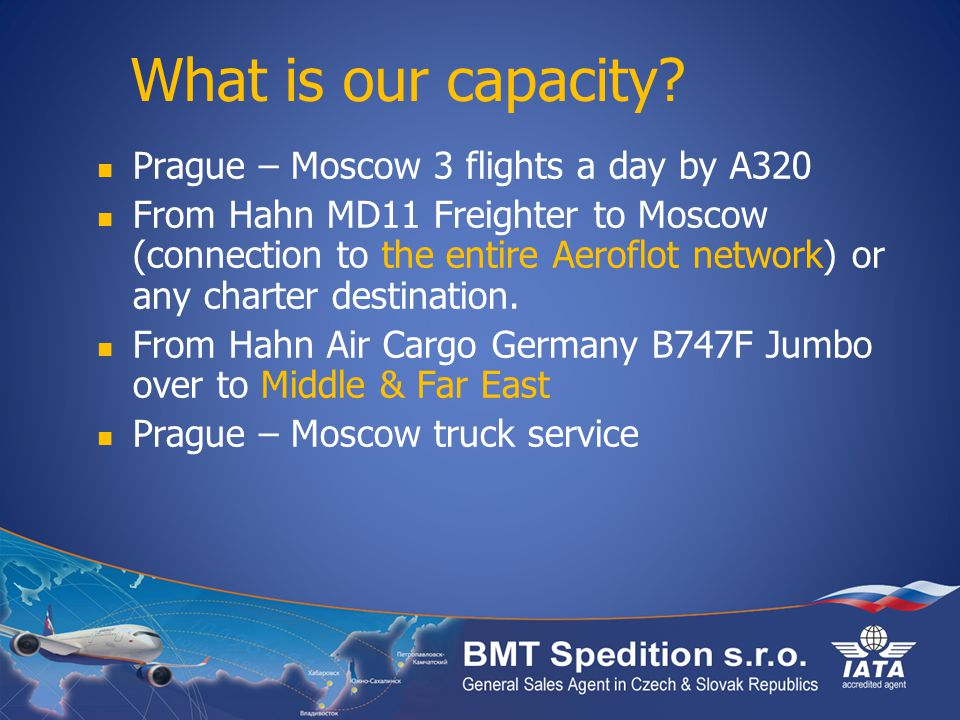 What is our capacity.