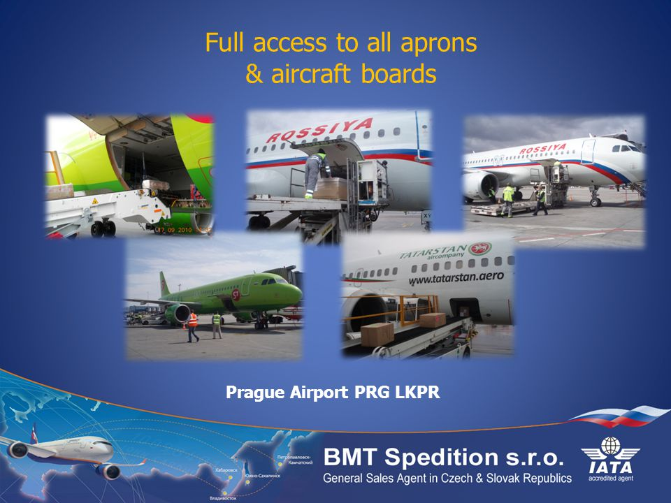 Full access to all aprons & aircraft boards Prague Airport PRG LKPR