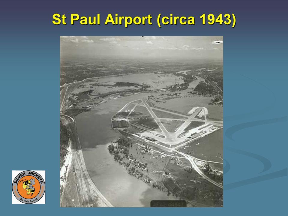 St Paul Airport (circa 1943)