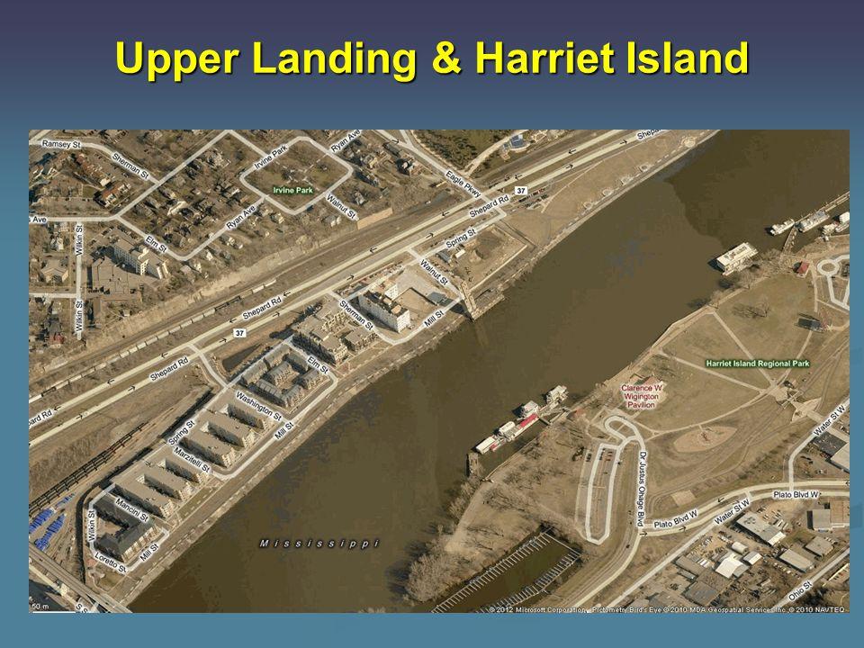 Upper Landing & Harriet Island