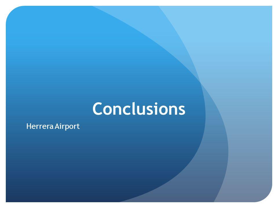 Conclusions Herrera Airport