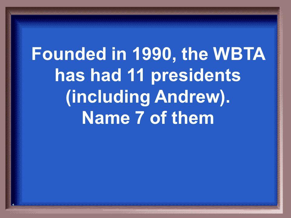 WBTA Leadership