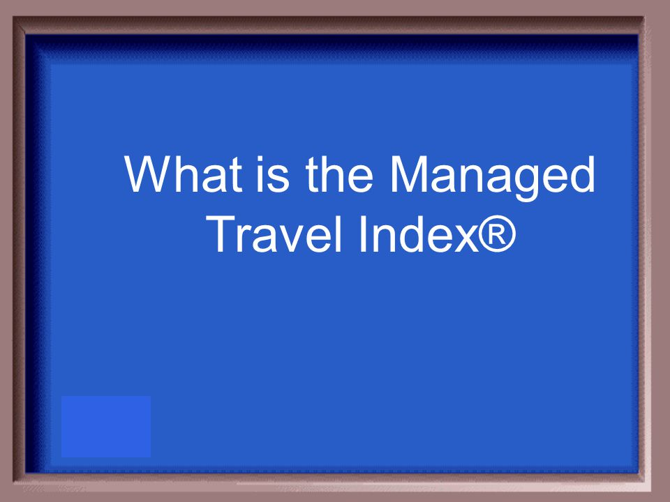 This GBTA tool was designed to help you benchmark the overall operational effectiveness and efficiencies of your managed travel program.