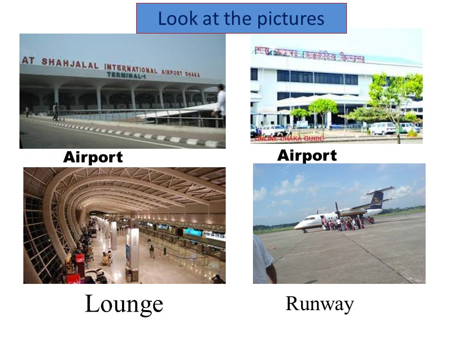 Individual work 1.What is an airport ?