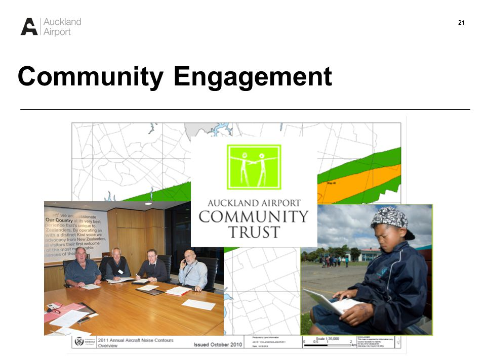 22 Community Engagement $1.83M to 41 separate projects since 2004
