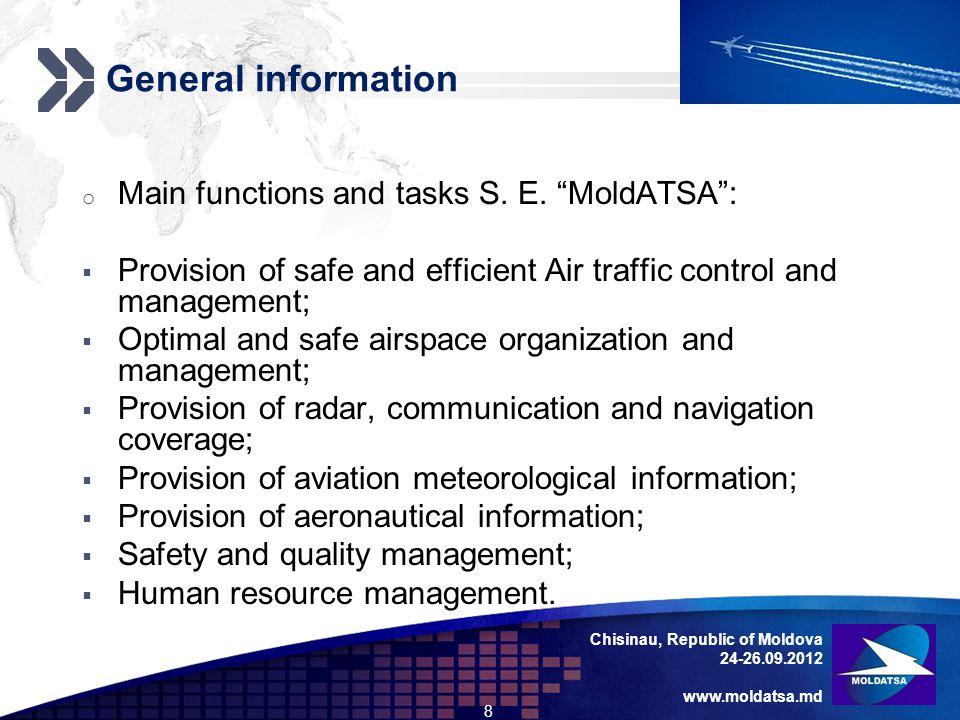 Add your company slogan LOGO ATM system modernization Chisinau, Republic of Moldova 24-26.09.2012 www.moldatsa.md 29 o [EUR_APM] EUROCONTROL Specification for Approach Path Monitor, EUROCONTROL-SPEC-128, draft edition 0.5, 19 May 2009.