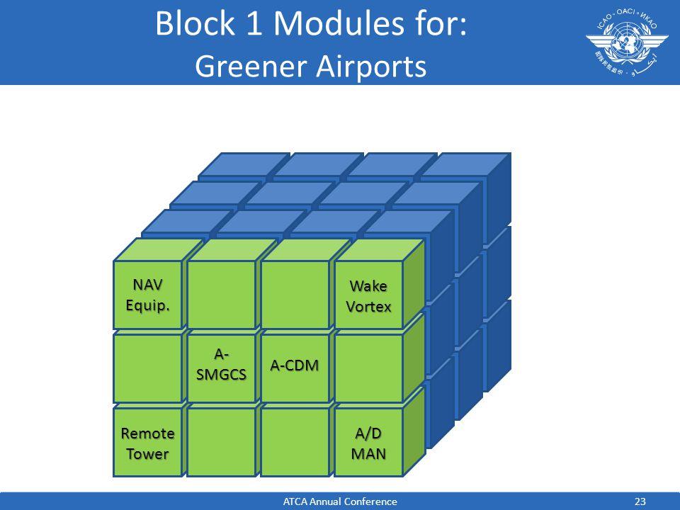 Block 1 Modules for: Greener Airports NAV Equip.