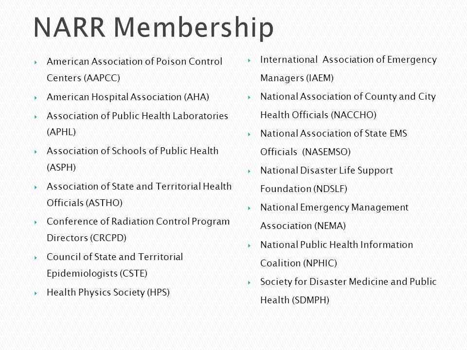 CDC disseminated guidance and tools to state radiation control programs and state and local public health officials.