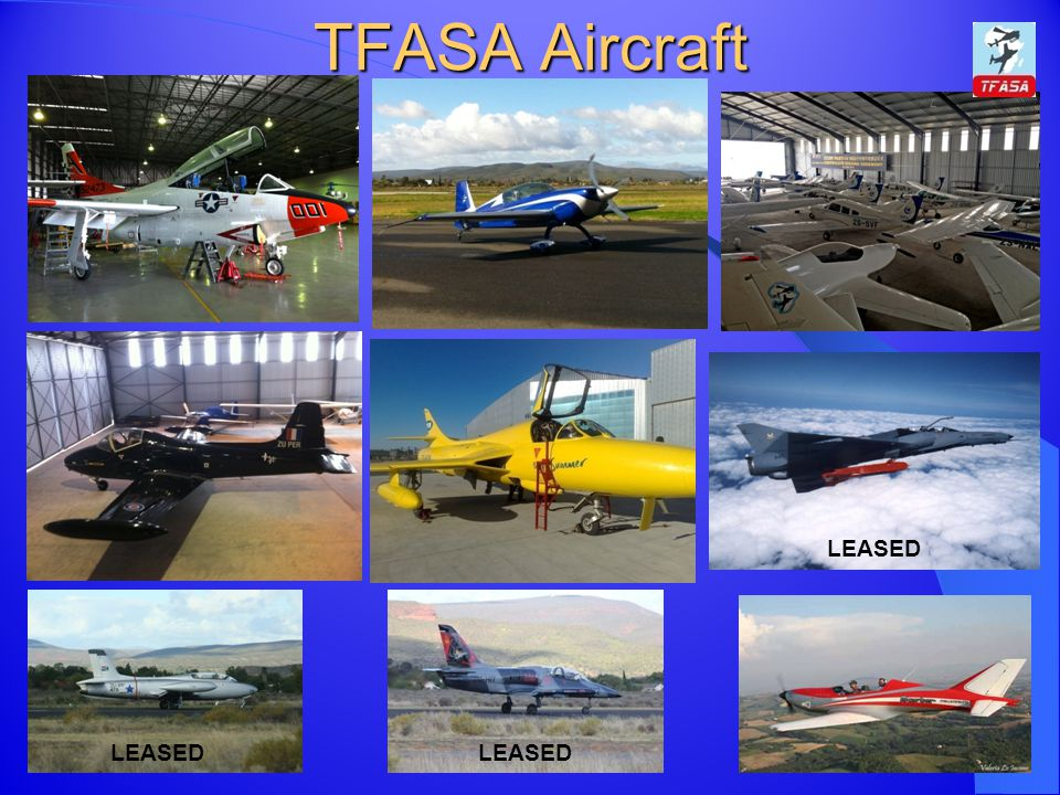 TFASA Aircraft LEASED