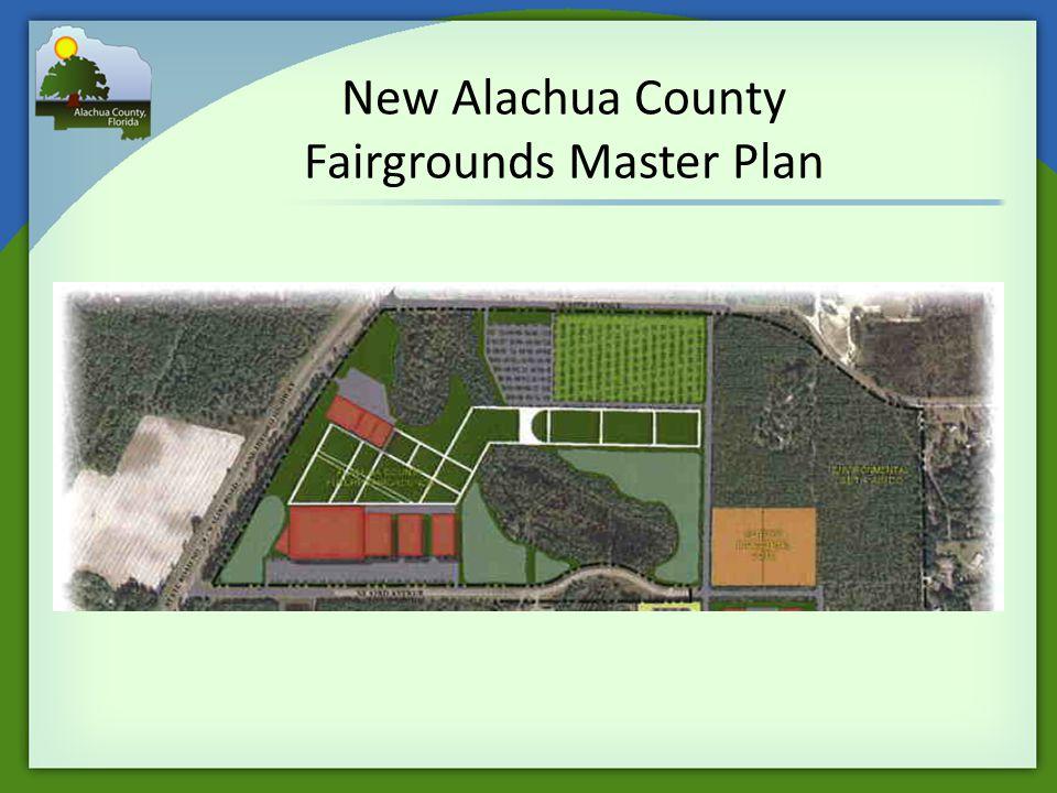 New Alachua County Fairgrounds Master Plan