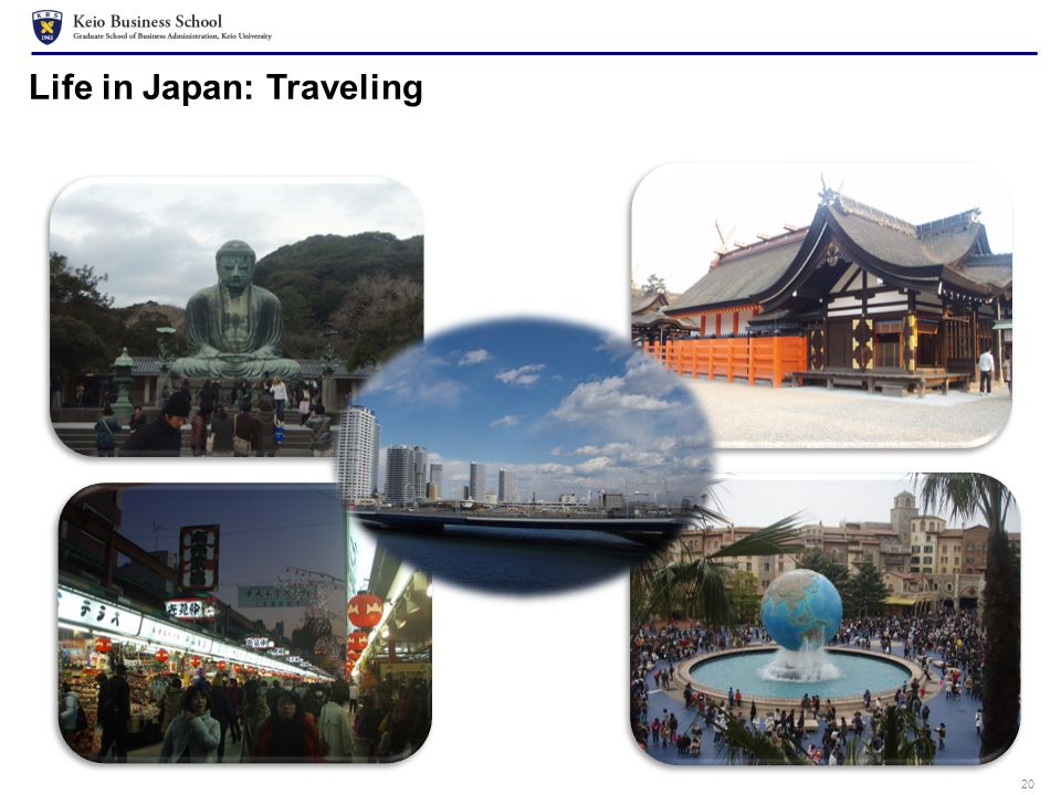 20 Life in Japan: Traveling