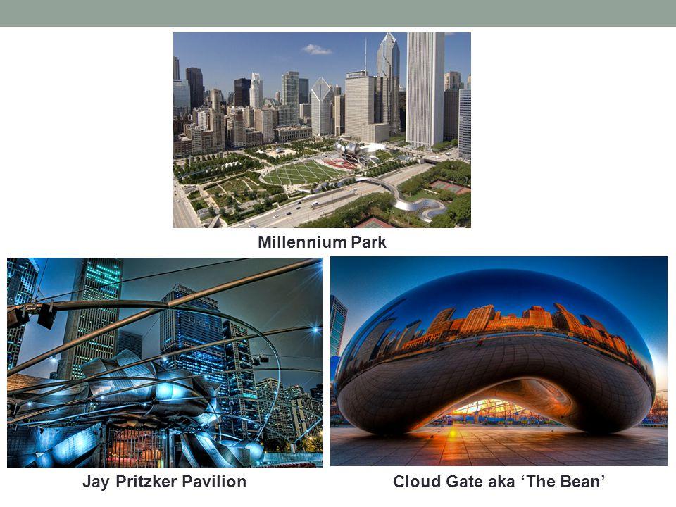 Millennium Park Cloud Gate aka The BeanJay Pritzker Pavilion