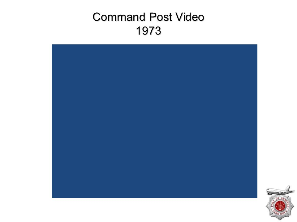 Command Post Video 1973