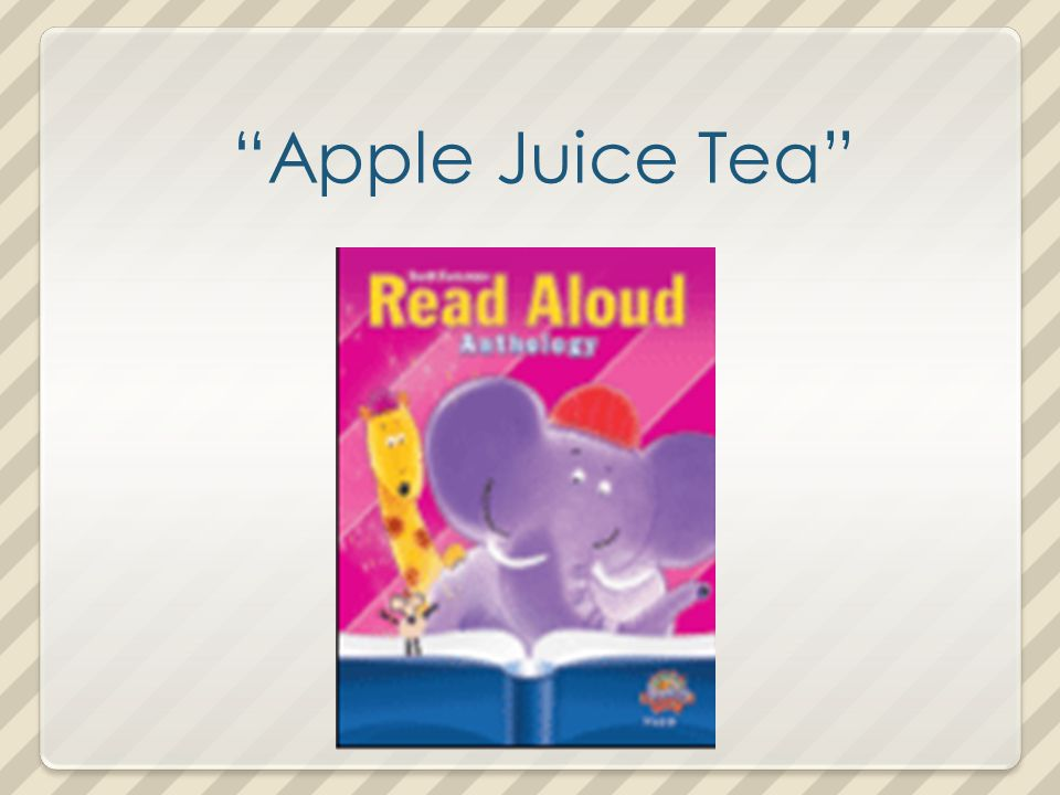 Apple Juice Tea