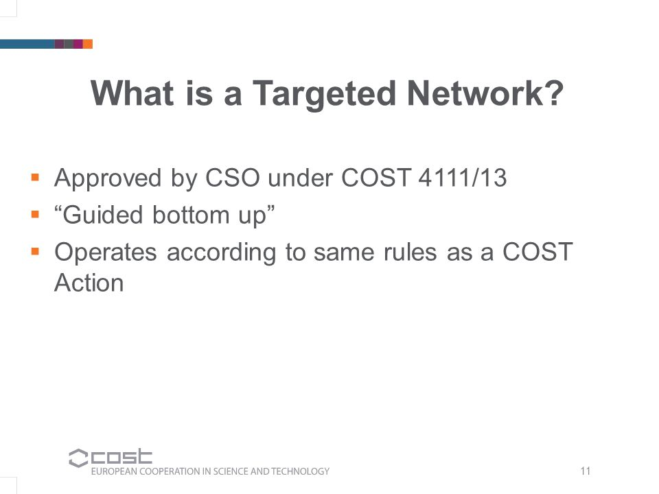 11 What is a Targeted Network.