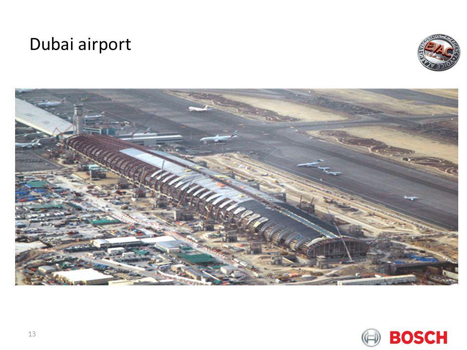 13 Bosch Praesideo at Airports Dubai airport