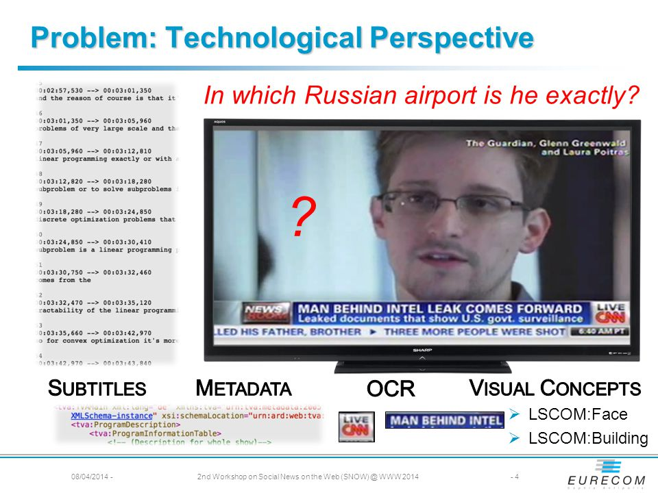 In which Russian airport is he exactly. LSCOM:Face LSCOM:Building .