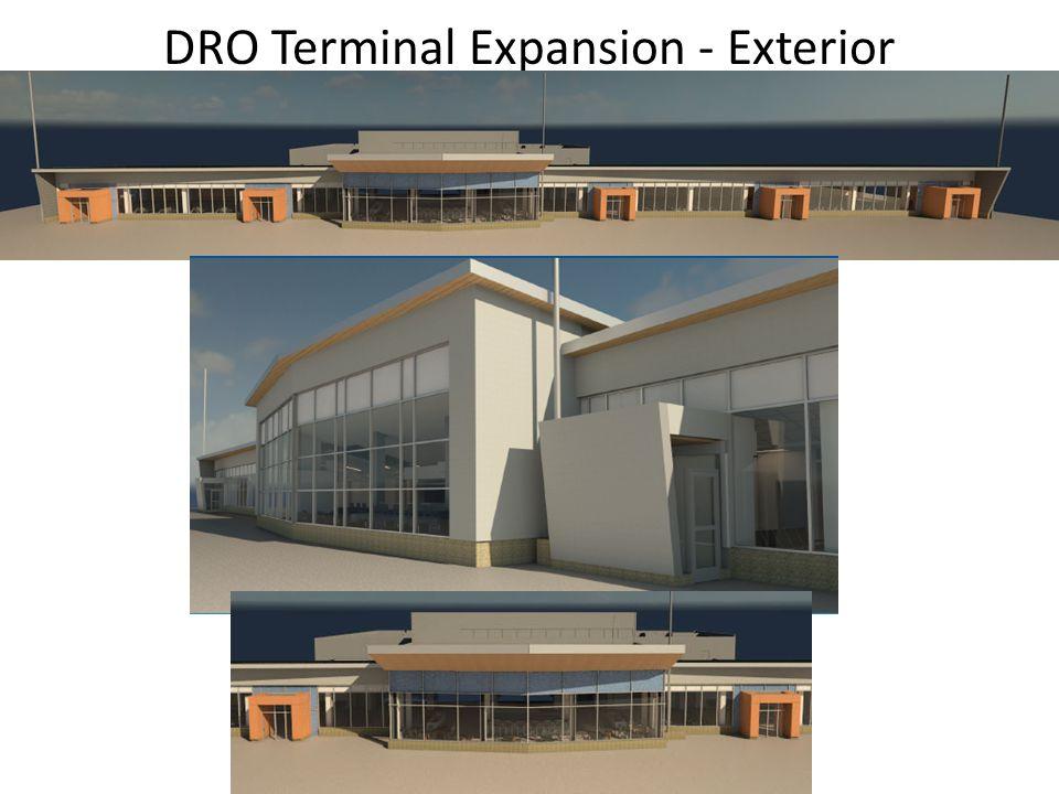 DRO Terminal Expansion - Exterior