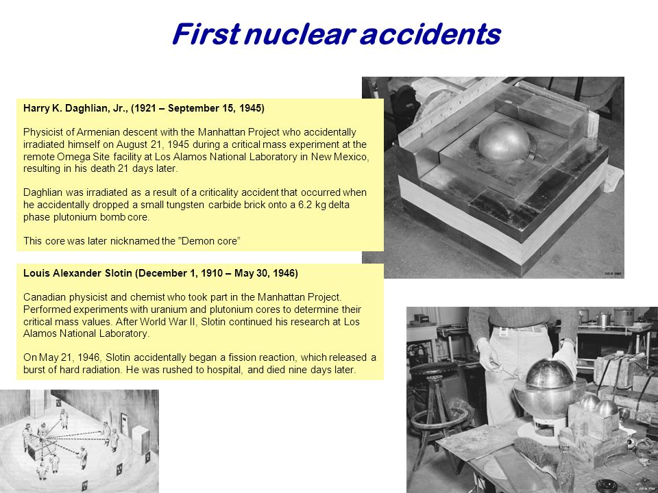 First nuclear accidents Najaar Harry K.