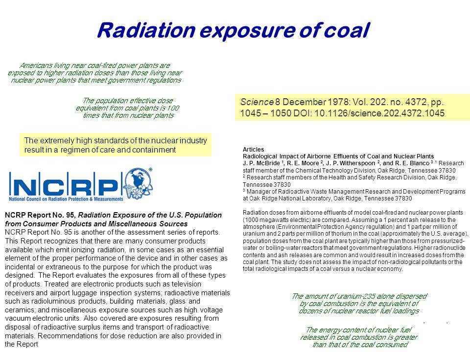 Najaar Articles Radiological Impact of Airborne Effluents of Coal and Nuclear Plants J.