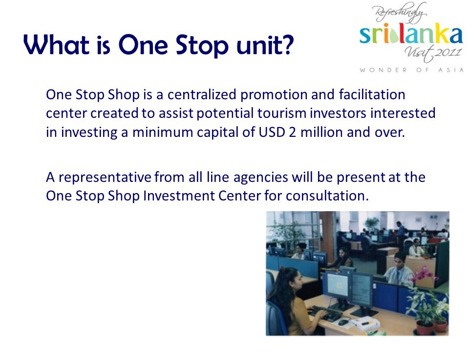 What is One Stop unit.