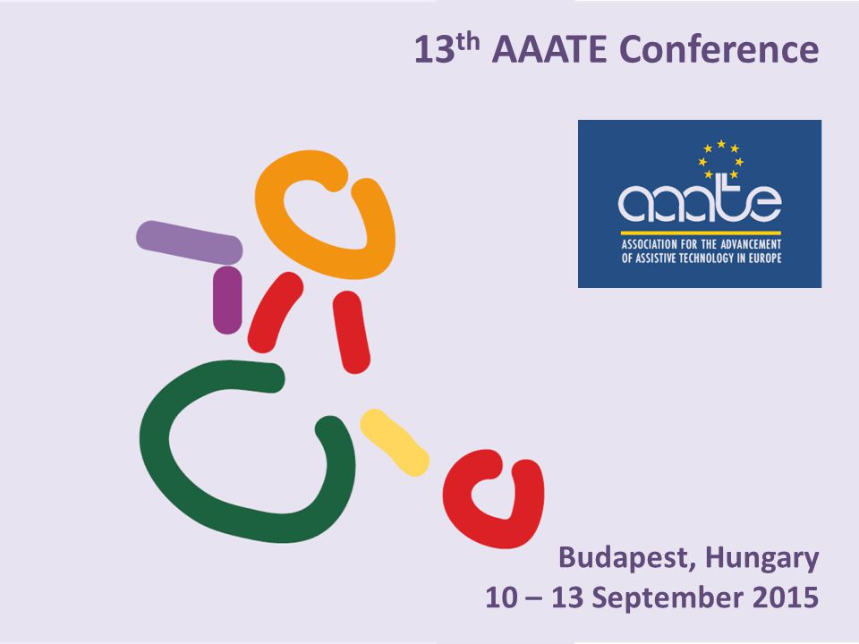 13 th AAATE Conference Budapest, Hungary 10 – 13 September 2015