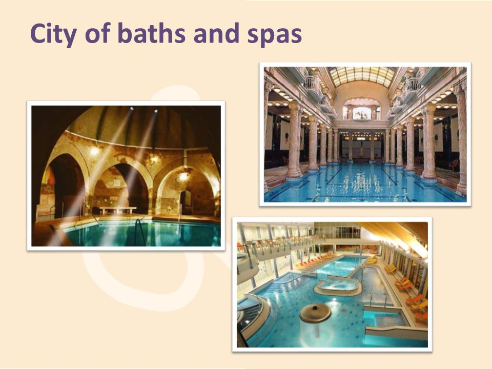 City of baths and spas