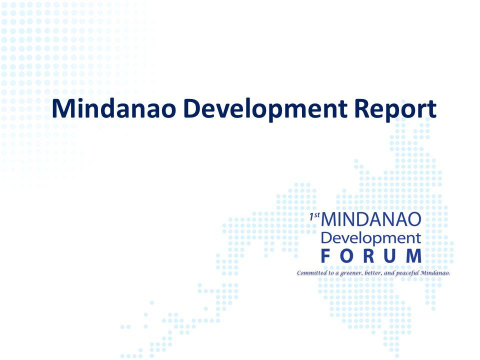 Mindanao Development Report