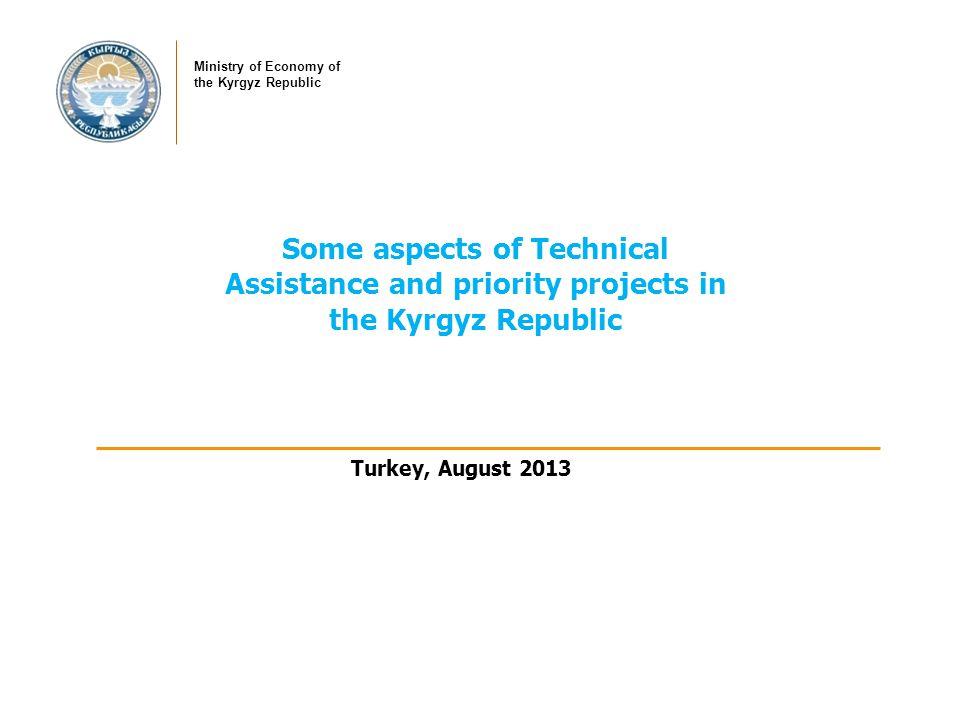 General Information I Capital City: Bishkek I Official Language: Kyrgyz I Government: Unitary Parliamentary Republic I Area: 200 thsd km2 I Population: 5,5 mln.