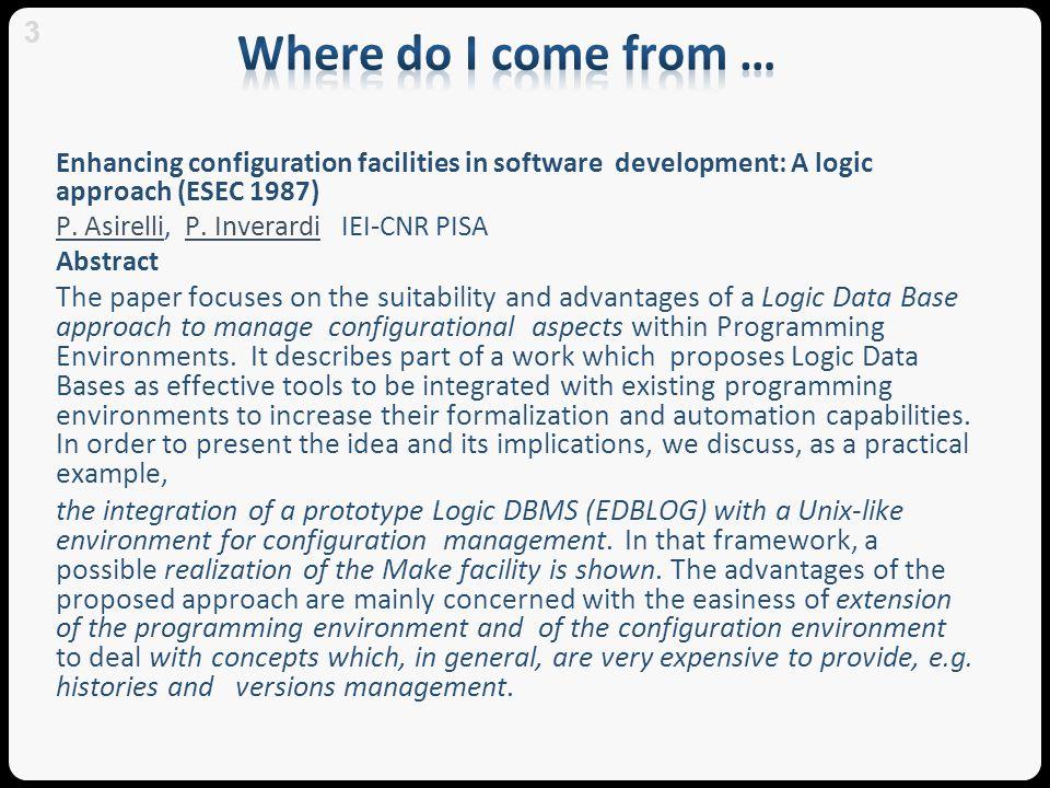 Architecture Development Env.