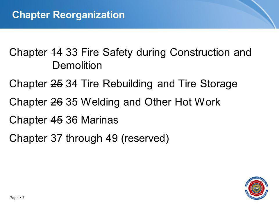 Page 408 Chapter 46 11 Fire and Life Safety Requirements for Existing Buildings 1103.9.2.3.3 Combination smoke/carbon monoxide alarms/detectors, cont Alarms/detectors in existing areas shall not be required where the alterations or repairs do not result in the removal of interior wall or ceiling finishes exposing the structure.