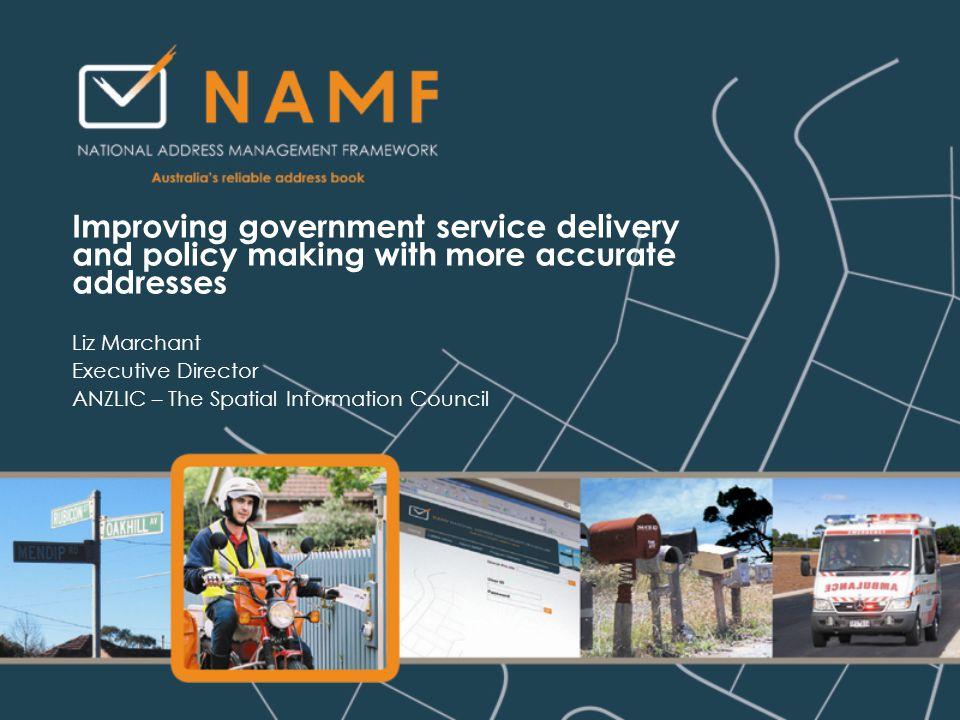Agenda National Address Management Framework 2