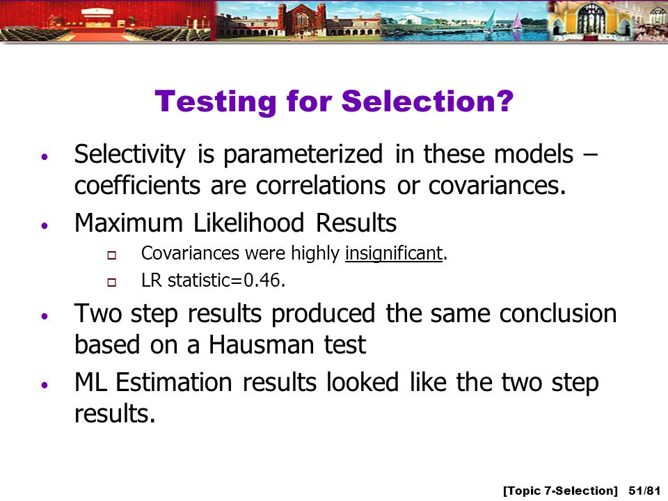 [Topic 7-Selection] 51/81 Testing for Selection.