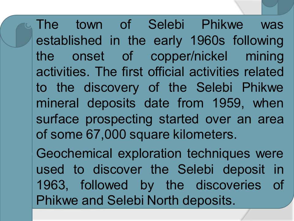 Selebi Phikwe has a semi-arid climate, with summer rainfall during the months of October to March ranging between 400 and 500 mm per annum.
