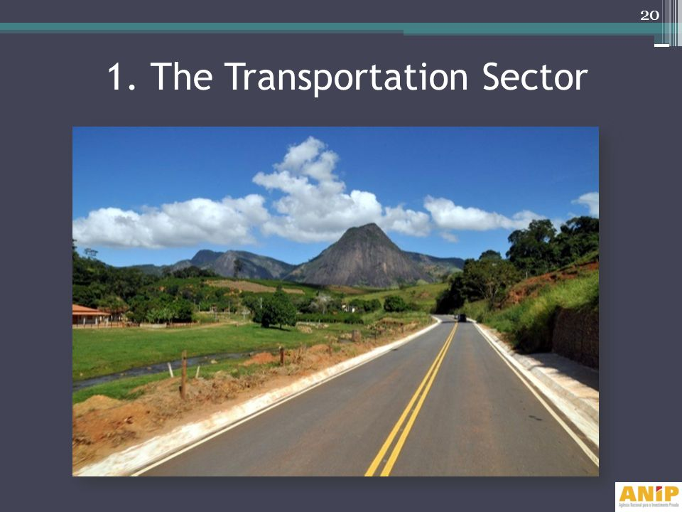 1. The Transportation Sector 20
