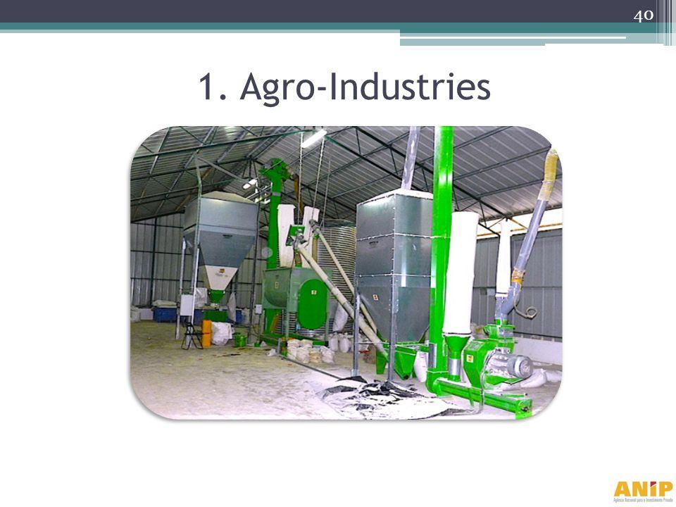1. Agro-Industries 40