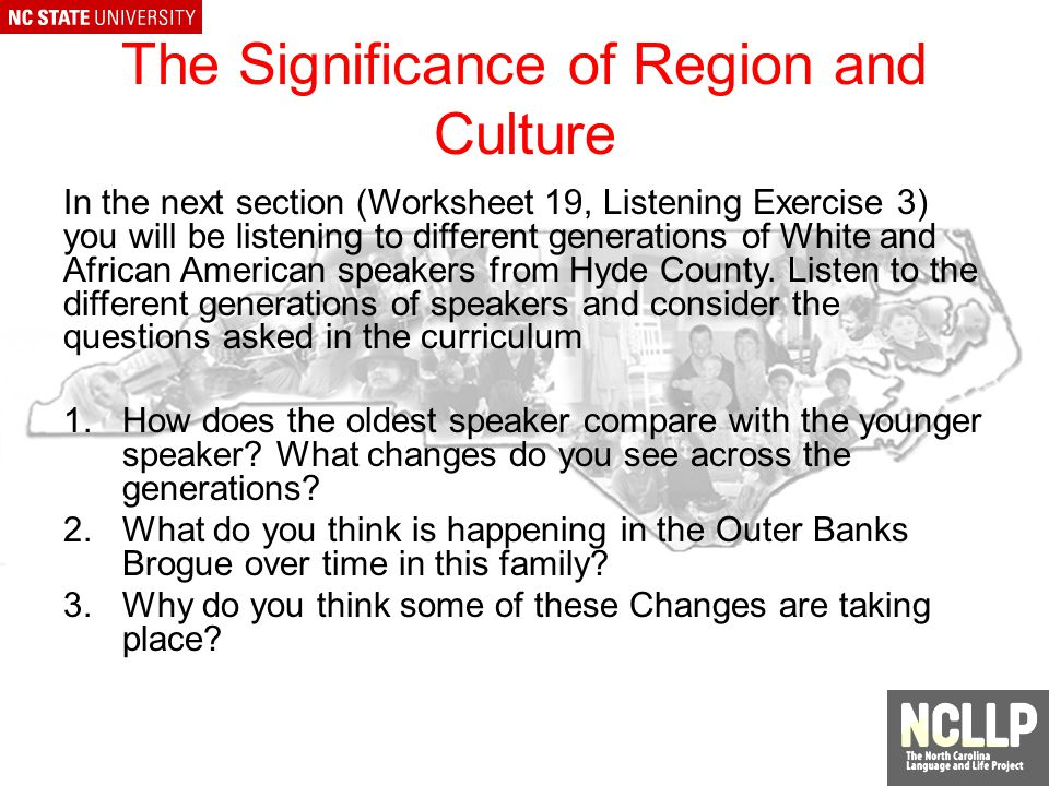 The Relevance of Hyde County for Dialect Study One of the oldest counties in North Carolina (c.