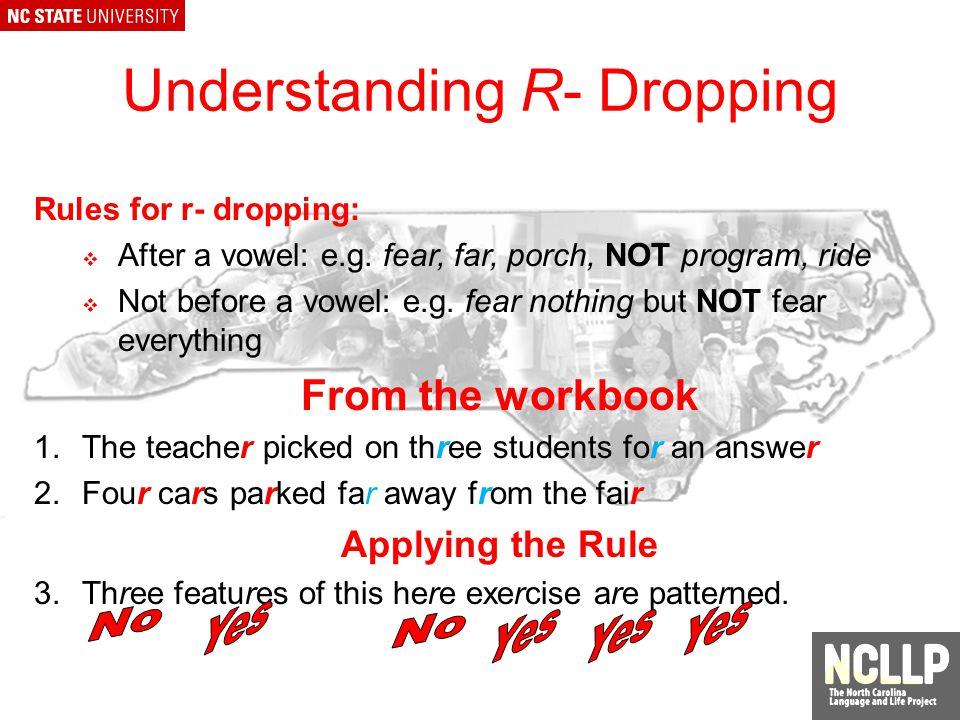 Comparison of Grammar Features