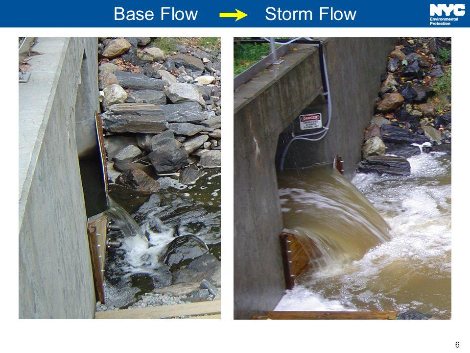 6 Base Flow Storm Flow