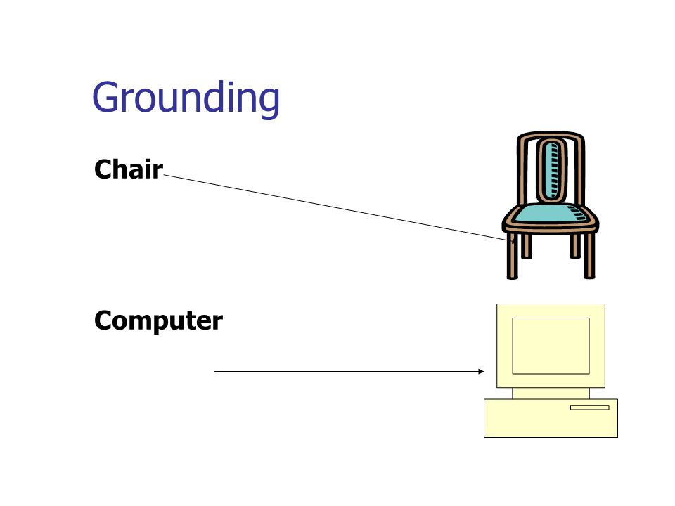 Grounding Chair Computer