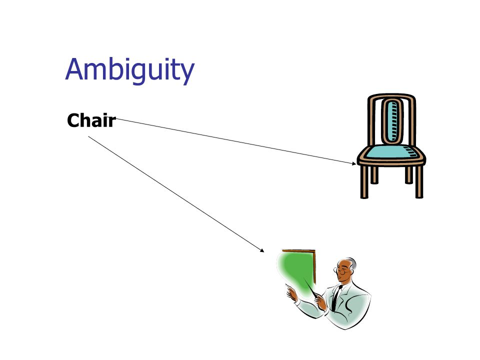 Ambiguity Chair