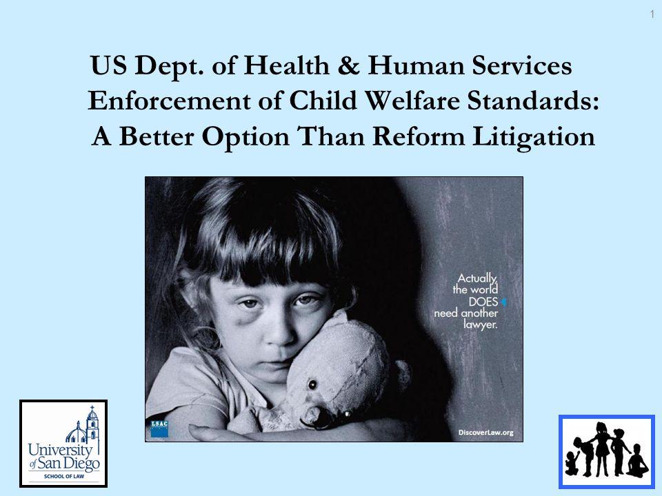 Pursuing reform through litigation has problems Cost –Missouri Child Care v.